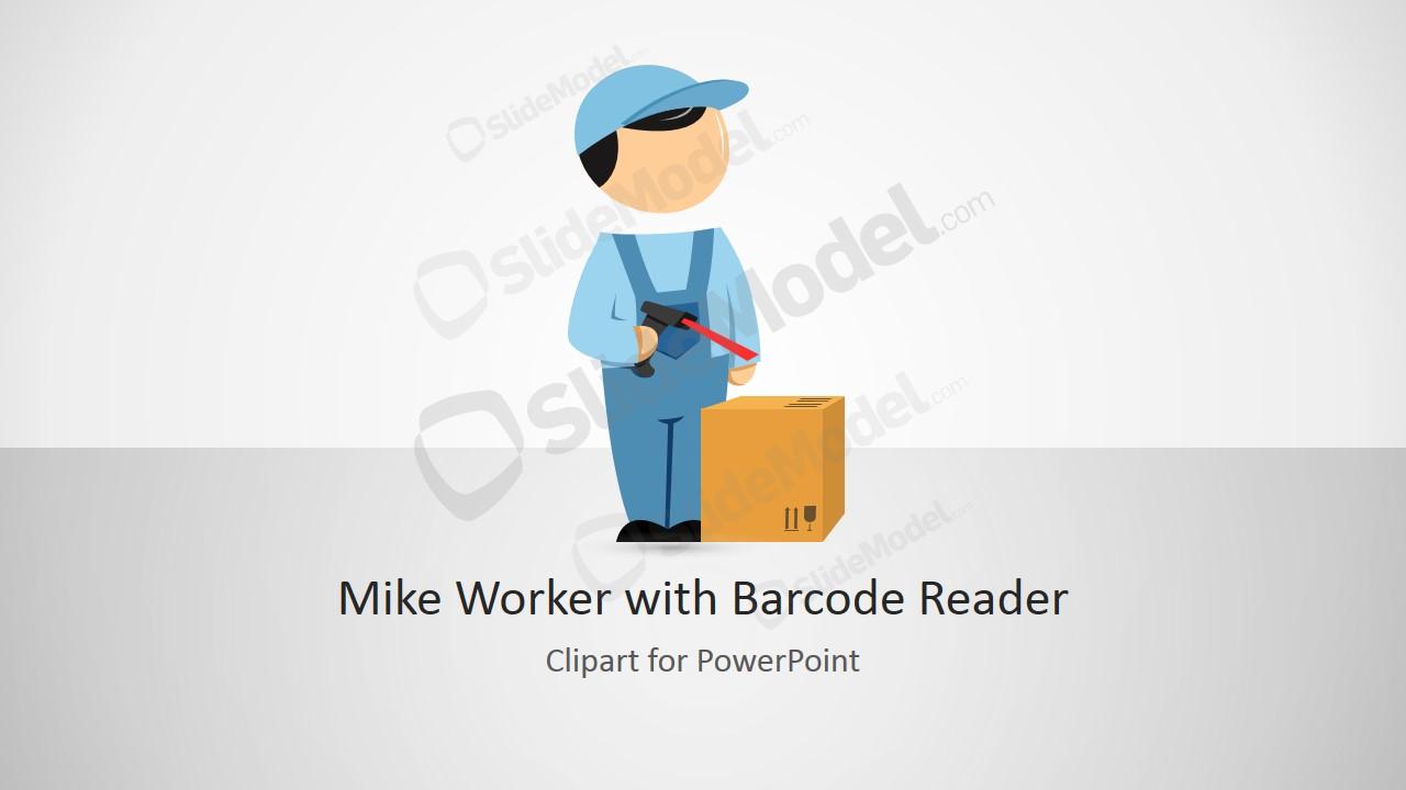 Barcode clipart cartoon #10