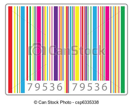 Barcode clipart date Of barcode colored Search shadow