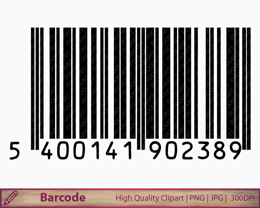 Barcode clipart first Code Barcode clip  file