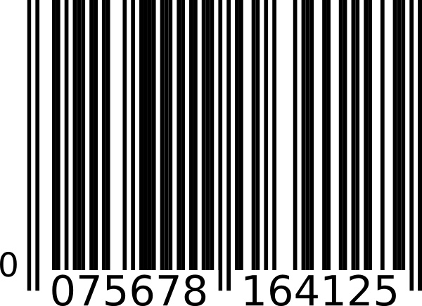 Barcode clipart happy birthday Bar clip vector office 13