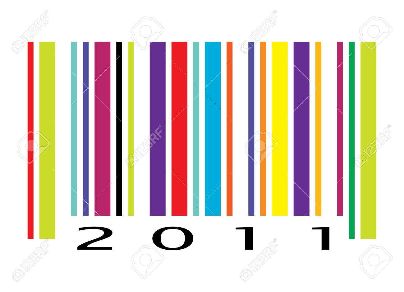 Barcode clipart happy birthday Clipart barcode Zone Cliparts Color
