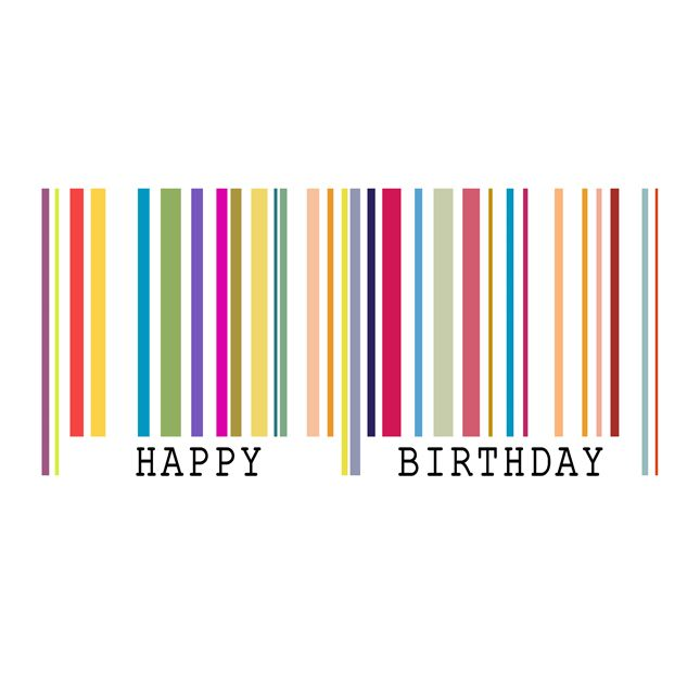 Barcode clipart happy birthday Barcode about Pinterest Birthday images