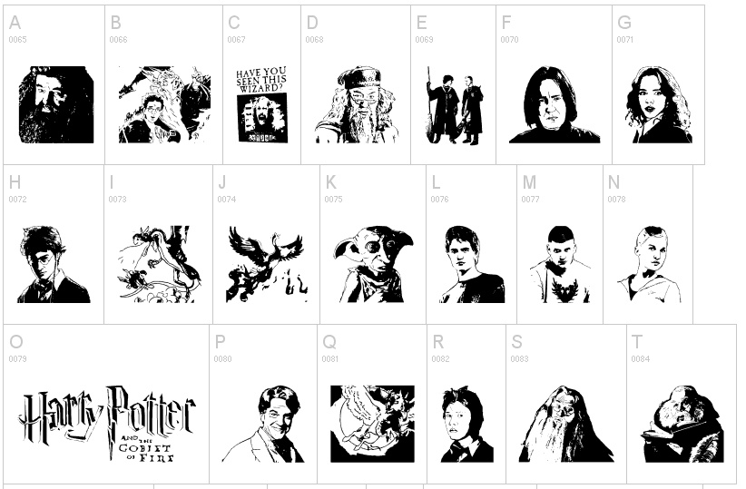 Barcode clipart harry potter #4