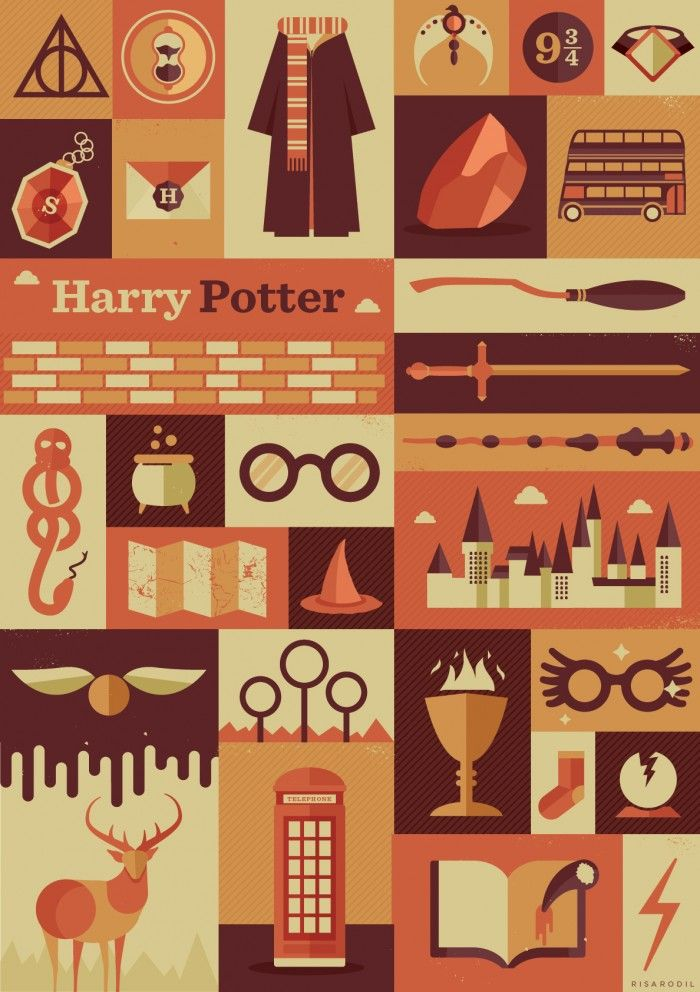 Barcode clipart harry potter #8