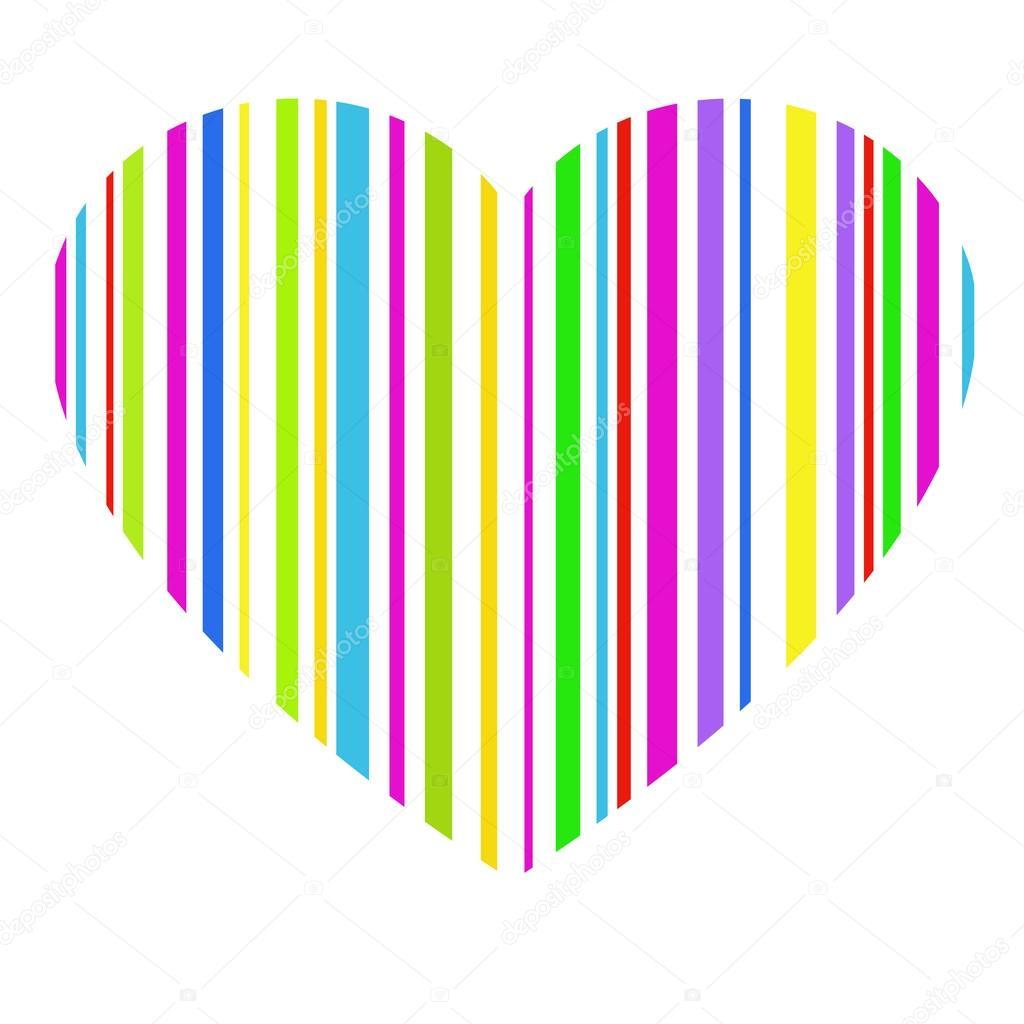 Barcode clipart heart #5