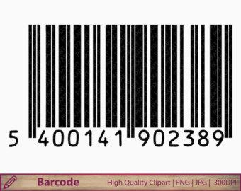 Barcode clipart magazine barcode Art barcode illustration clip clipart