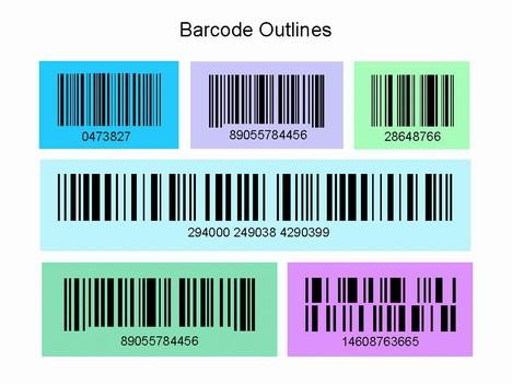 Barcode clipart magazine barcode Barcode  template