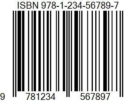 Barcode clipart magazine cover ISBN Book Cover Barcode1 Magazine