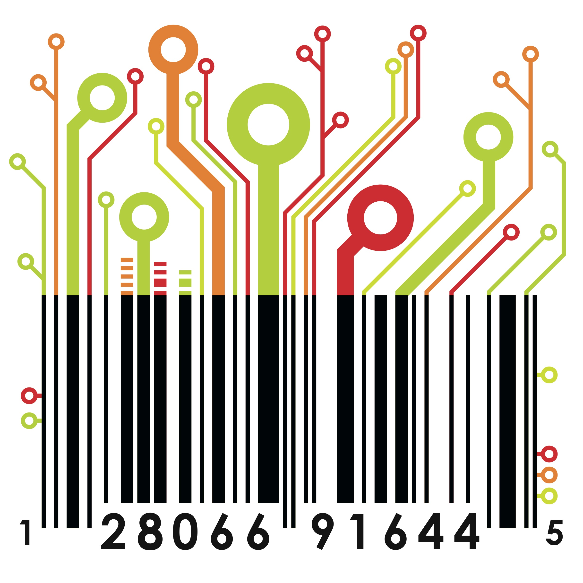 Barcode clipart magazine cover On Clip Vector Barcode Clip