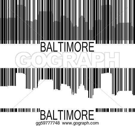 Barcode clipart real Vector rise gg59777748 Drawing City