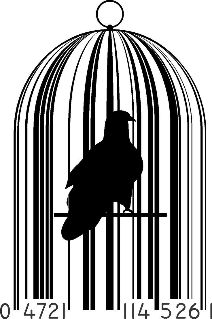 Barcode clipart short 20+ Bird CODE on BAR