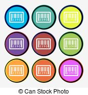 Barcode clipart sku Sku Barcode siamimages1/1;  colored