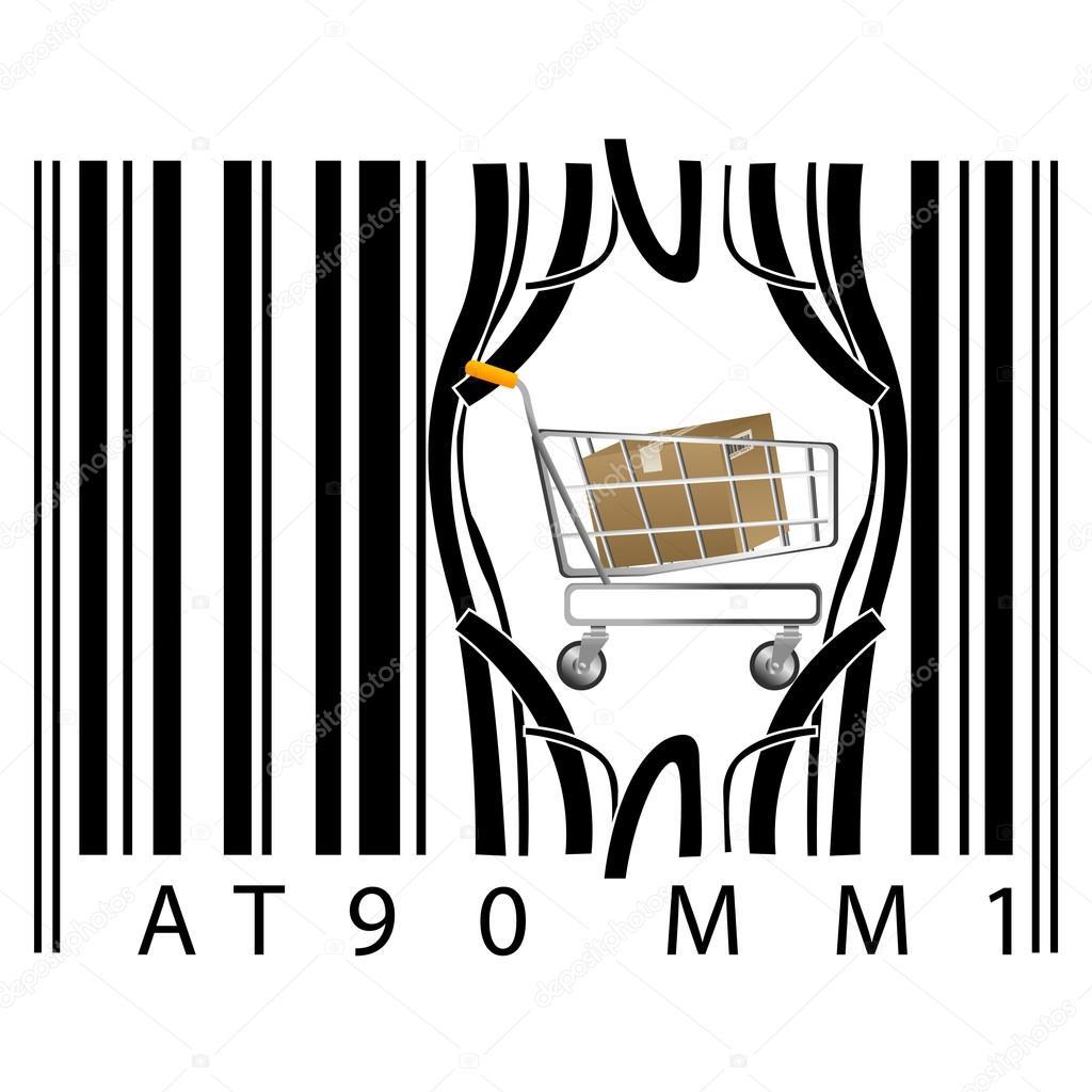 Barcode clipart vertical Barcode Barcode Vertical