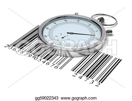 Barcode clipart white background Background delivery background white Stopwatch
