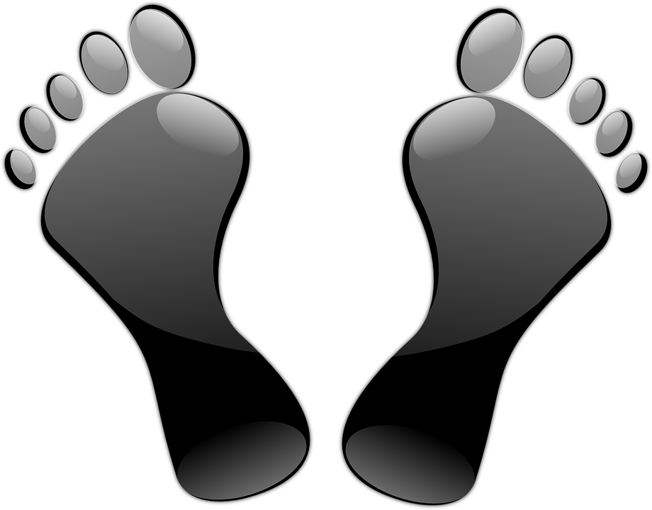 Barefoot clipart athlete's foot #9