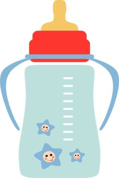 Barefoot clipart baby bottle Child Baby Boy Line Clip