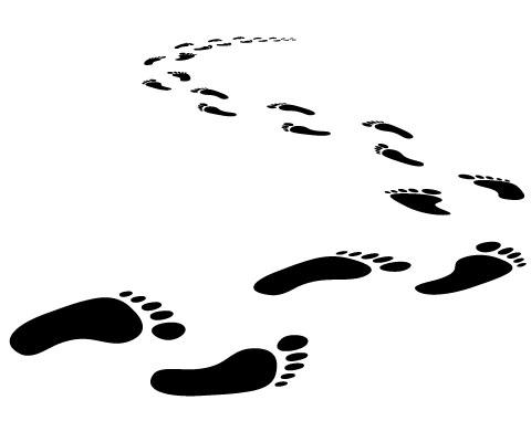 Footprint clipart rubber shoe Cliparts Cliparts Footprints Bare Footprints
