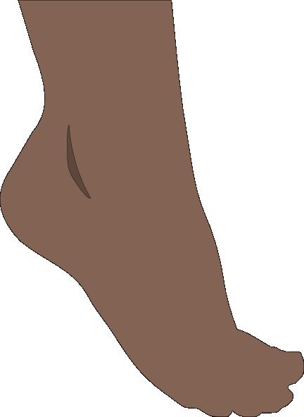 Barefoot clipart toe #3