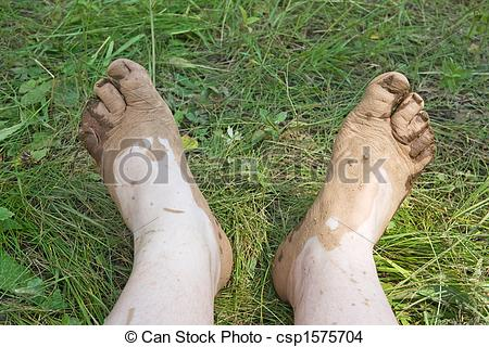 Barefoot clipart toe #6