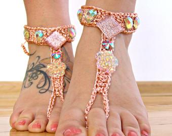 Barefoot clipart foot massage Peach Barefoot Barefoot Sandals Footless