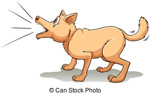 Bark clipart Barking clipart  and Barking