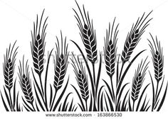 Barley clipart wheat leave Hand on Barley visual