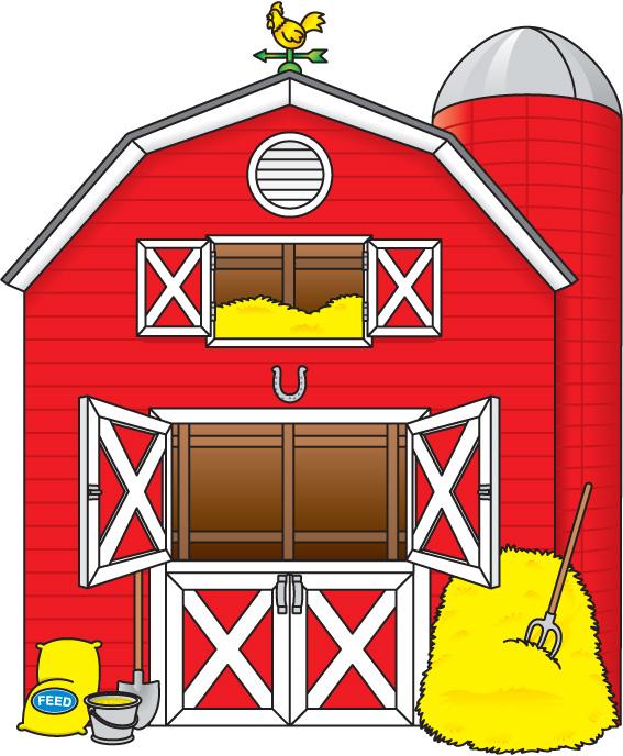 Open Door clipart kitchen window Barn images free Clipartix clipartcow