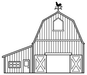 Barn clipart Clipart Free Barn Barn