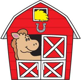 Barn clipart Clipartix art clip clipartcow yard