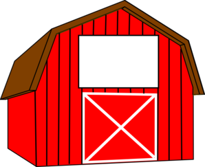 Barn clipart Black Barn Clipart White Free