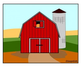 Barn clipart barn door Clipart Barn Door