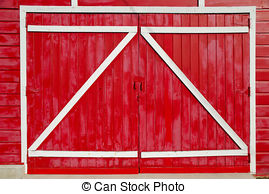 Barn clipart barn door Barn the with Royalty doors