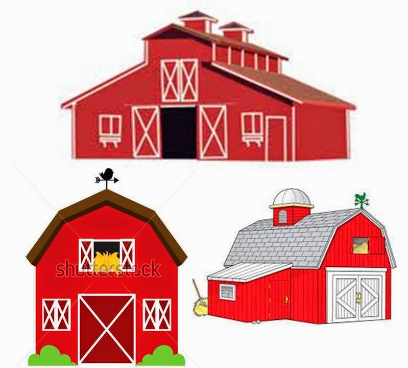 Barn clipart farm land Too and baby can They