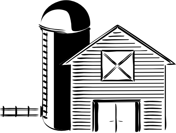 Barn clipart barn silo Clip at this clip online