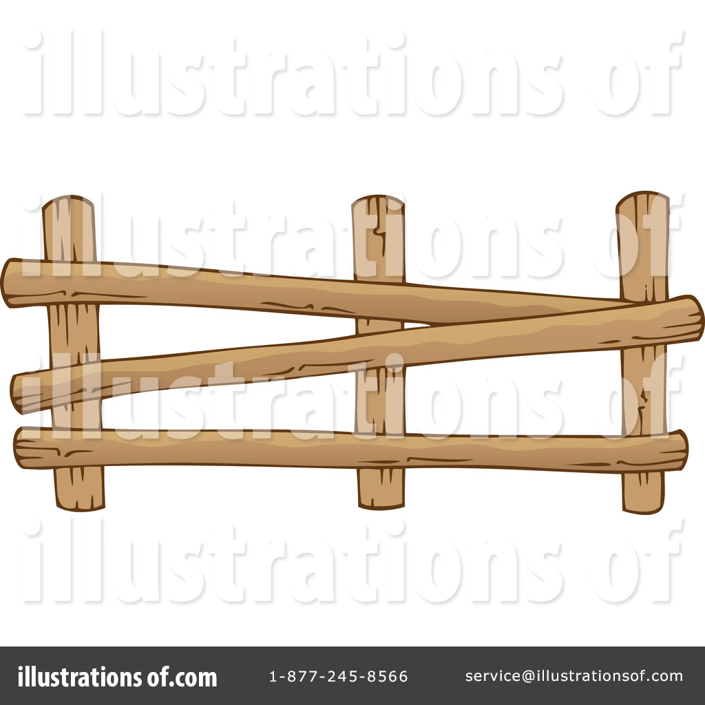 Barn clipart fence By #1216435 visekart Clipart by