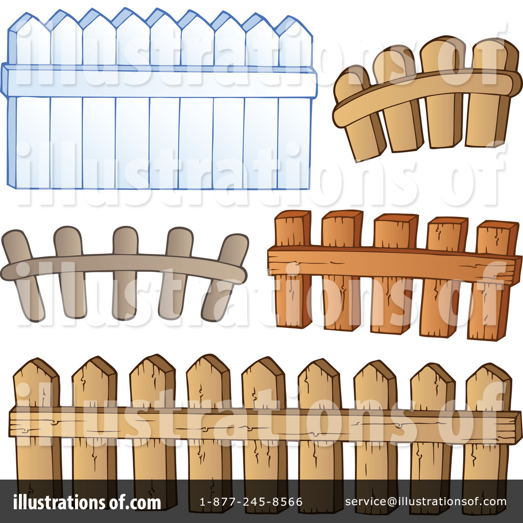 Barn clipart fence By #1100760 visekart Clipart by