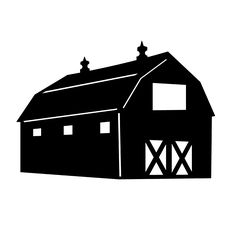 Barn clipart cow shed Clipart clipart Google red farm