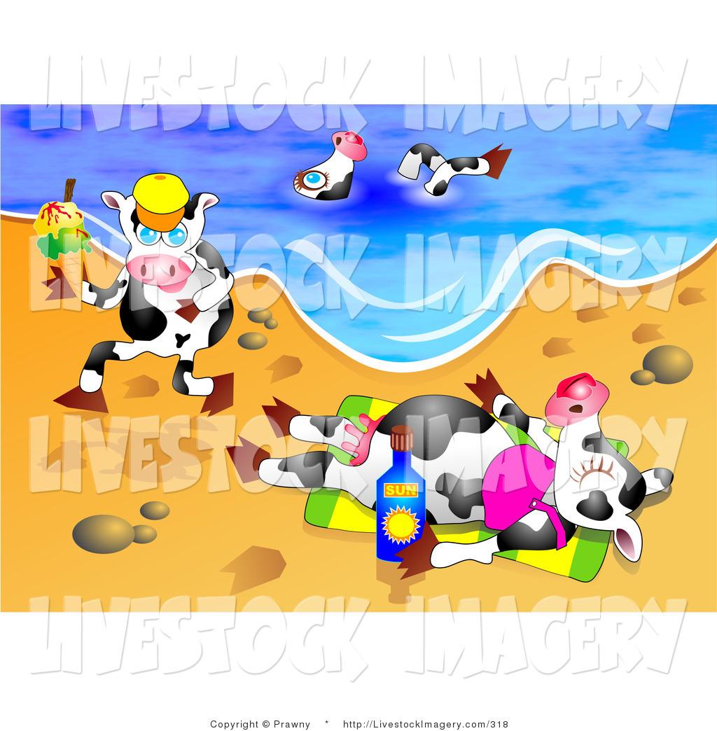 Vacation clipart sunny beach Vacation Swimming on of Sunny