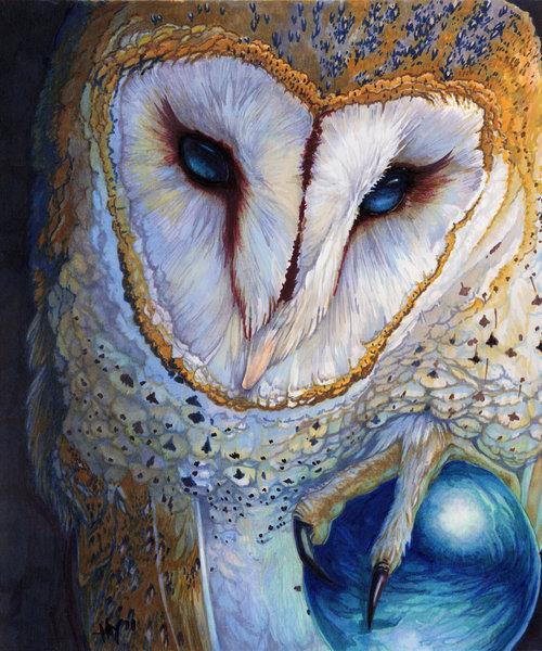 Barn Owl clipart labyrinth #8