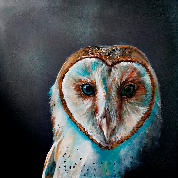 Barn Owl clipart labyrinth #1