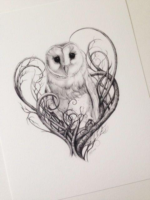 Barn Owl clipart labyrinth #10