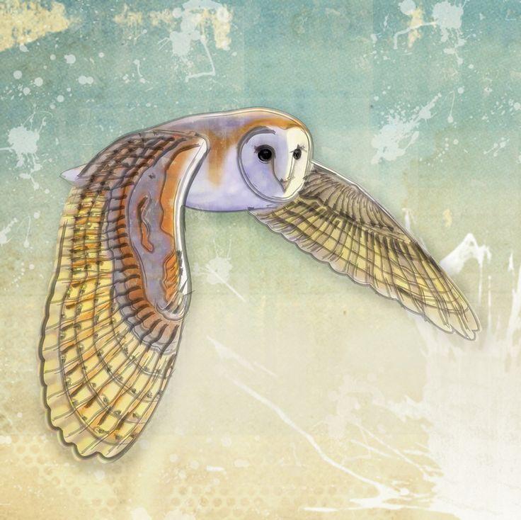 Barn Owl clipart labyrinth #14