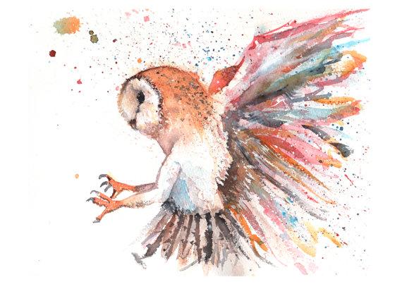 Barn Owl clipart labyrinth #6
