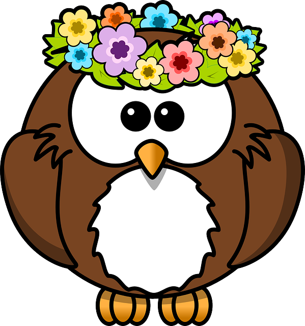 Barn Owl clipart nocturnal animal Nocturnal Snow Free Garland Max