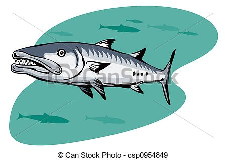 Barracuda clipart human Art on  Illustrations 87