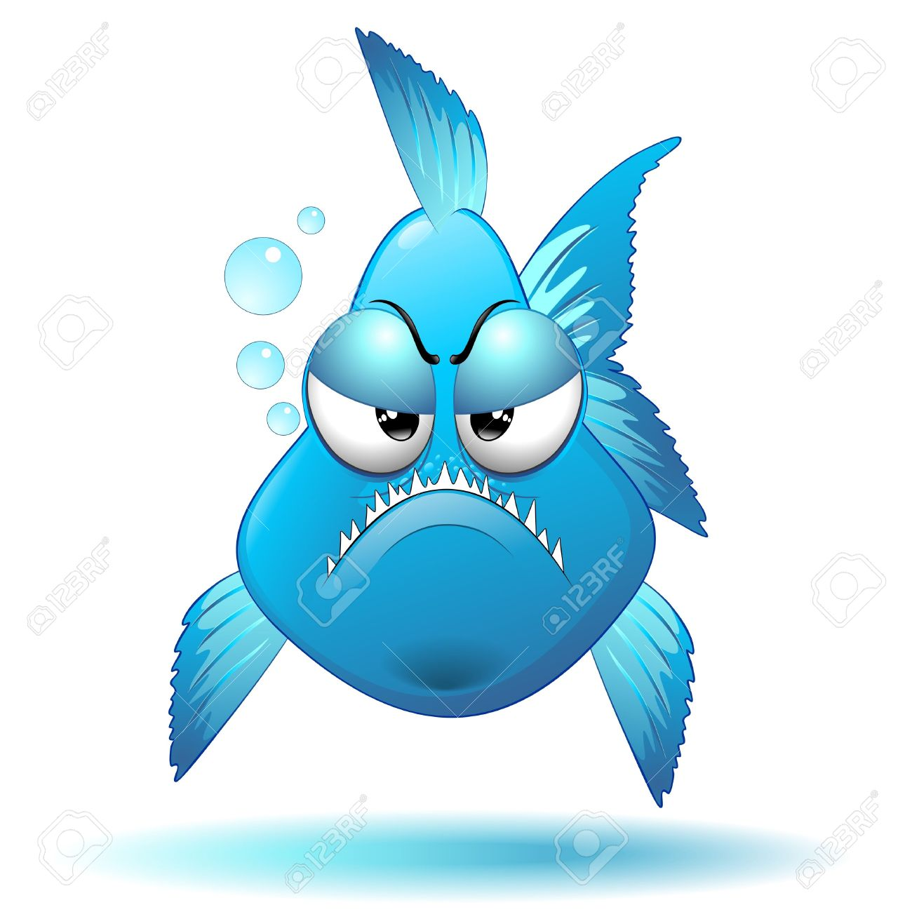 Piranha clipart animated #15
