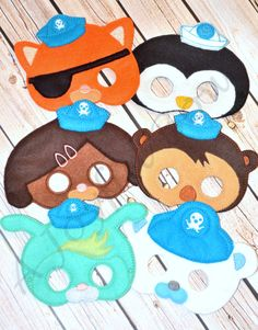 Barracuda clipart octonauts Octonauts deviantart birthday octonauts and