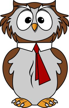Barred Owl clipart animated Bocian  PNG Owl Image