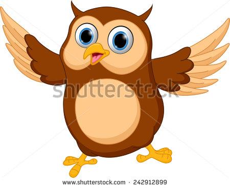 Barred Owl clipart animated Happy Pinterest  cartoon Happy