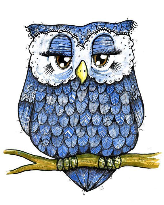 Barred Owl clipart blue owl Barred Download Barred svg svg